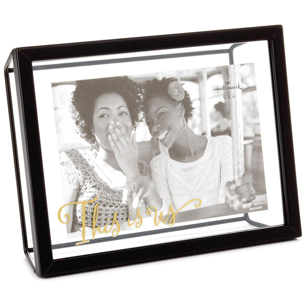 This Is Us Glass and Metal Picture Frame, 4x6 - Picture Frames ...
