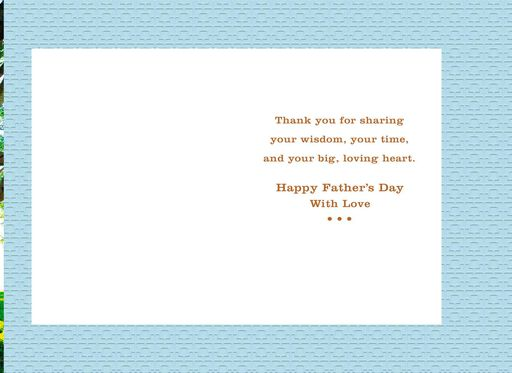 Grateful for You Father's Day Card for Papa,