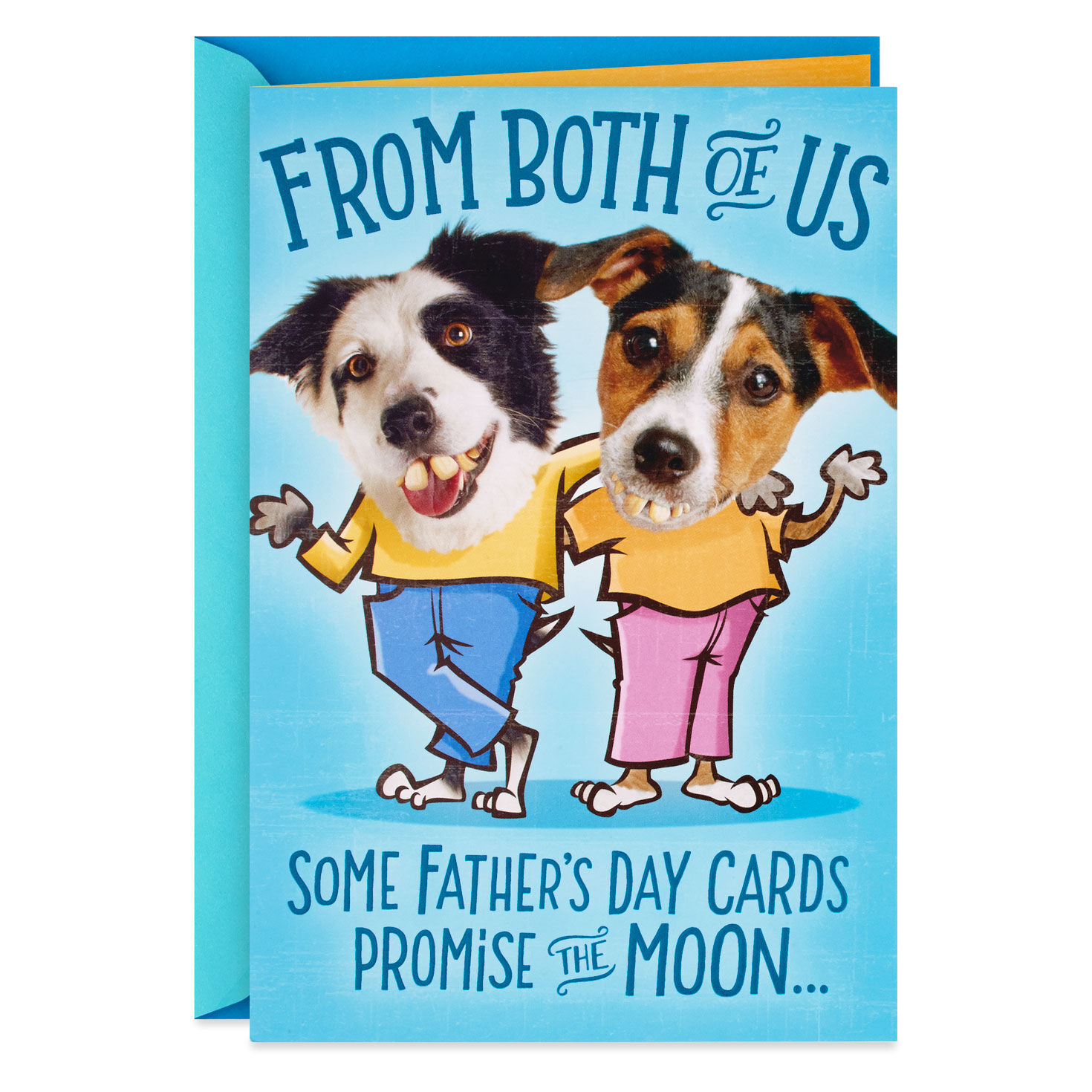 To Dad From Both Of Us Father/'s Day Card Pop Up