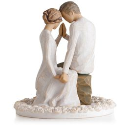 Willow Tree® Around You Figurine & Wedding Cake Topper, , large