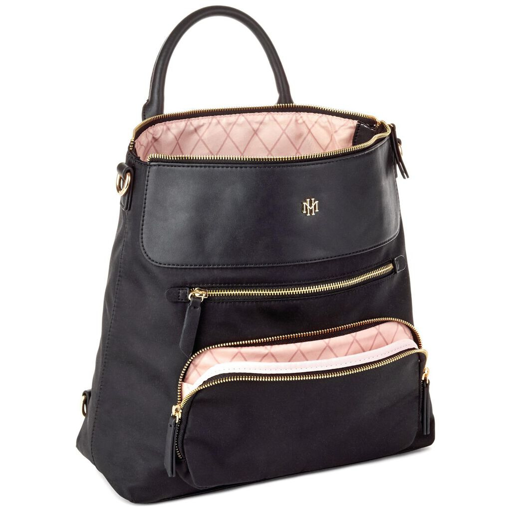81e9172083b Mark   Hall Black Backpack Purse - Handbags   Purses - Hallmark