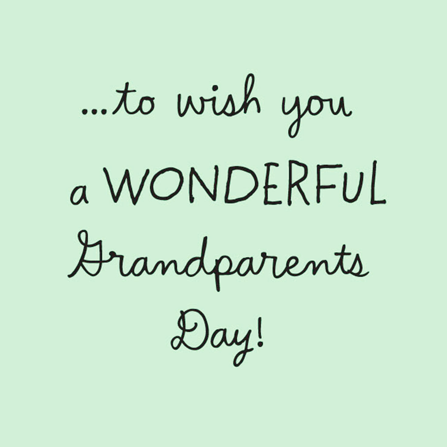 picture regarding Grandparents Day Cards Printable referred to as Grandparents Working day Playing cards Hallmark