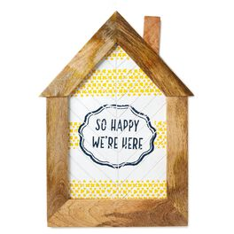 So Happy We're Here Framed Wall Art, , large