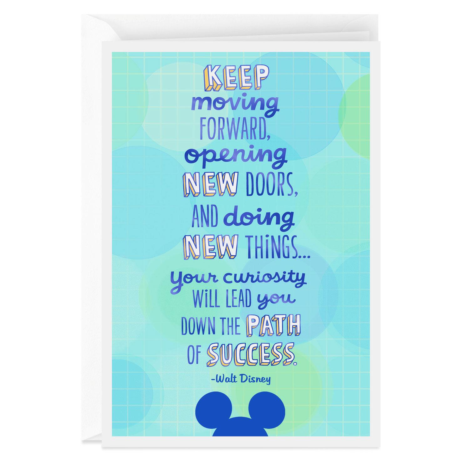 Walt Disney Quote Graduation Card Greeting Cards Hallmark