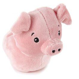 Zip-Along Pig Stuffed Animal, , large