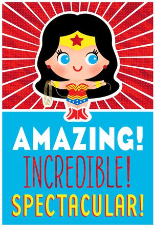 Wonder Woman™ Celebrate Today Musical Birthday Card