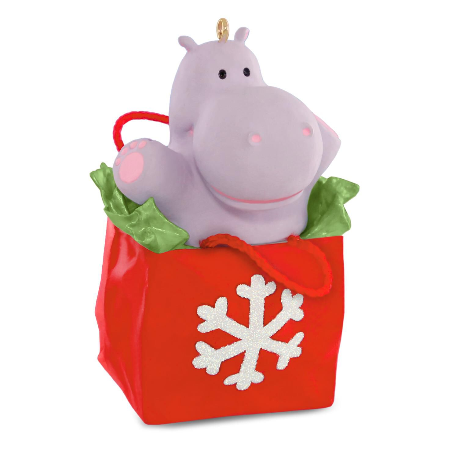 I Want a Hippopotamus for Christmas Musical Ornament - Keepsake ...