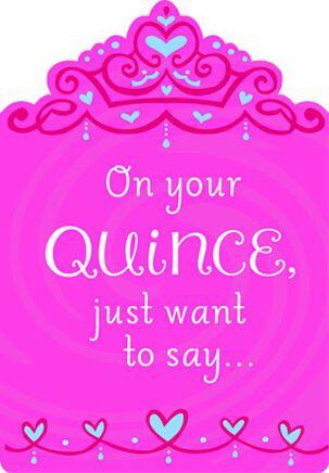 Felicidades Para la Quinceañera - Bilingüe