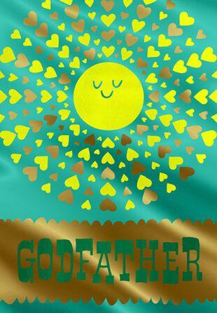 Sunny Godfather Birthday Card