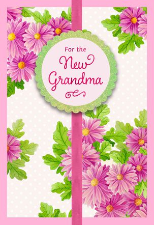 Enjoy Every Moment Mother's Day Card for New Grandma