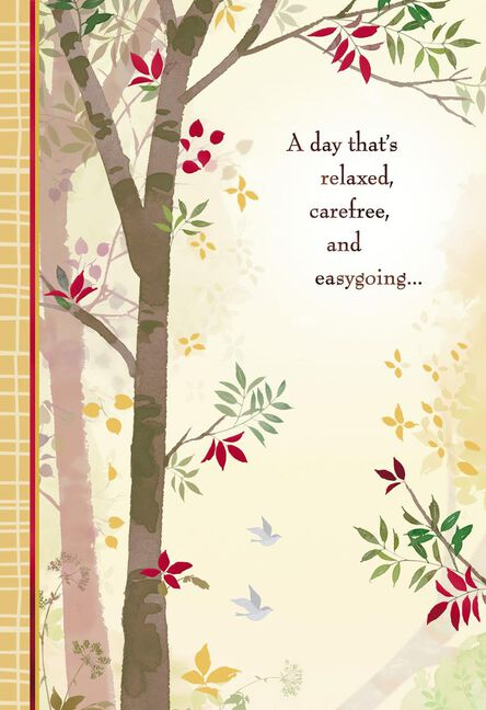 A Relaxed Day For A Great Guy Birthday Card Greeting Cards Hallmark