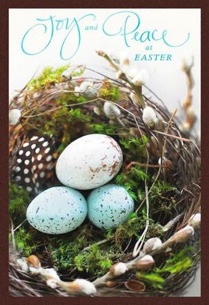 Nest With Eggs Religious