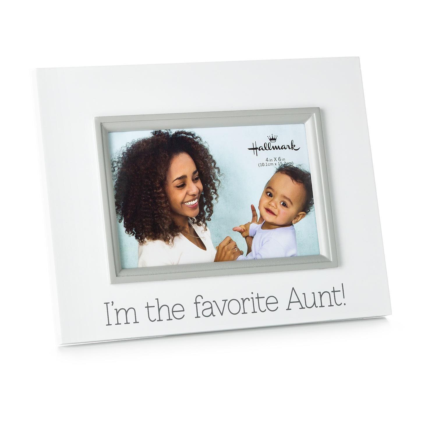 favorite aunt wood malden picture frame 4x6 picture frames hallmark