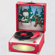 Rudolph The Red Nosed Reindeer 174 Record Player Musical