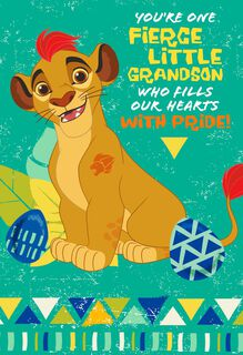Disney The Lion Guard Fill Our Hearts Easter Card for Grandson,