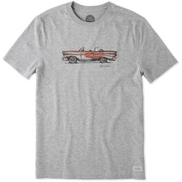 Life is Good® Men's Cruisin' Dog T-Shirt, , large