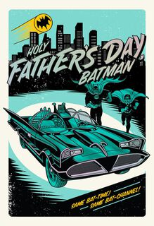 Batman™ and Robin™ Father's Day Card,
