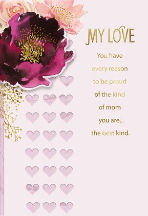 Best Mom and Best Wife Mother's Day Card