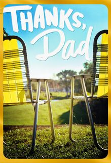 You Taught Me Everything Father's Day Card,