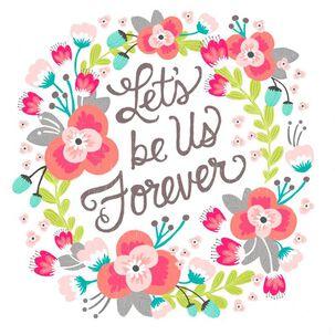 Floral Wreath Love Card