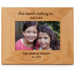 Our Hearts Belong In Local Picture Frame, 4x6, , large