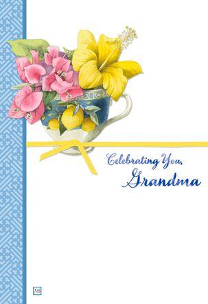 Marjolein Bastin Celebrating Grandma Birthday Card