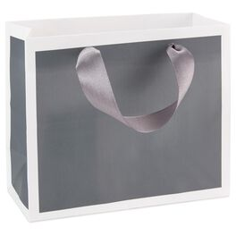 Steel Gray Gift Bag, , large
