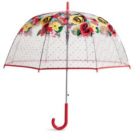 Vera Bradley Auto Open Bubble Umbrella in Havana Rose, , large