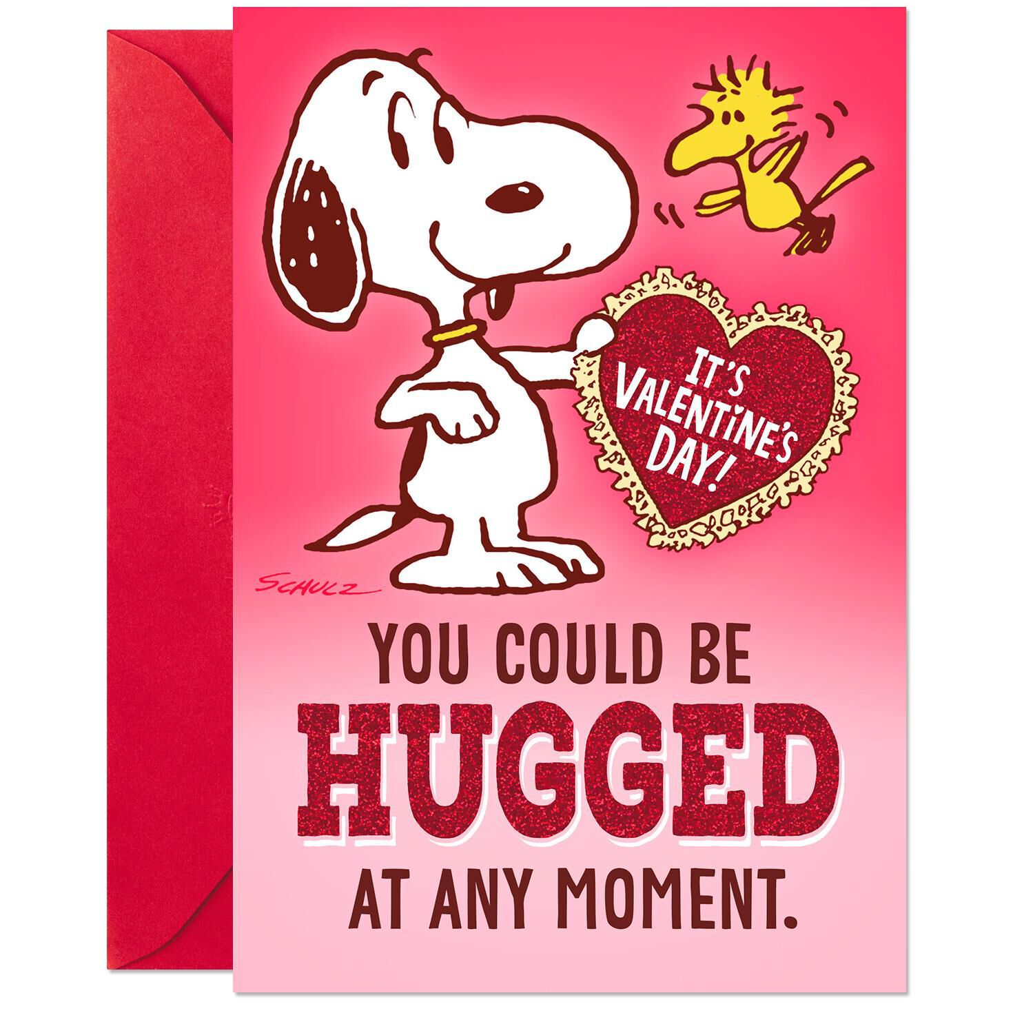 Peanuts® Snoopy Hug Valentineu0027s Day Pop Up Card   Greeting Cards ...