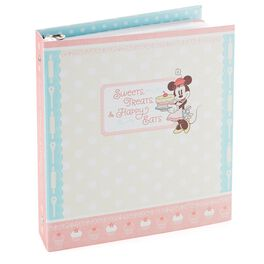Minnie Mouse Recipe Organizer Binder, , large