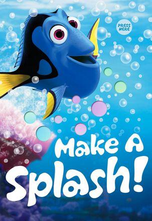 Make a Splash Kids Birthday Light and Song Card