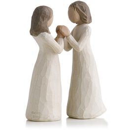 Willow Tree® Sisters by Heart Figurine, , large