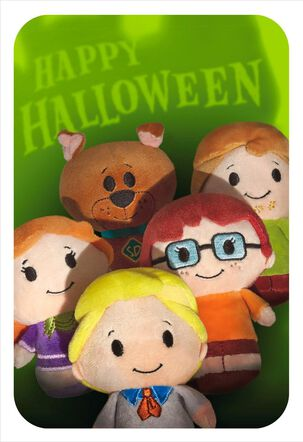 itty bittys® Scooby-Doo & Gang Halloween Card