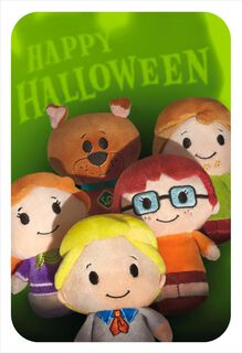 itty bittys® Scooby-Doo & Gang Halloween Card,