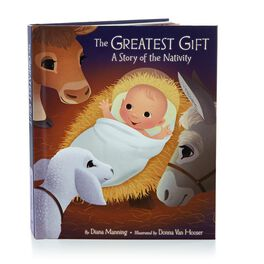 The Greatest Gift: A Story of the Nativity Recordable Storybook, , large