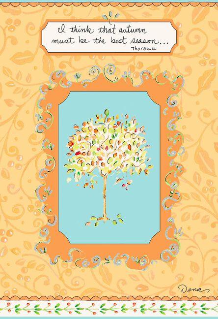 Dena designs autumn must be the best season thanksgiving card m4hsunfo