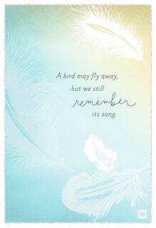 Celebrating a Life Marjolein Bastin Sympathy Card,