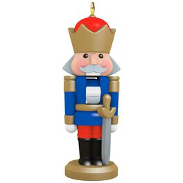 Teensy Nutcracker Mini Ornament, , large