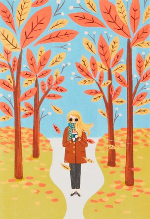 Sweater Weather and You Thanksgiving Card