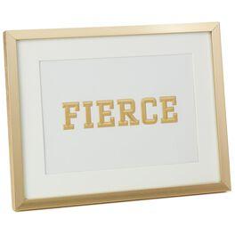 Fierce Framed Print, , large