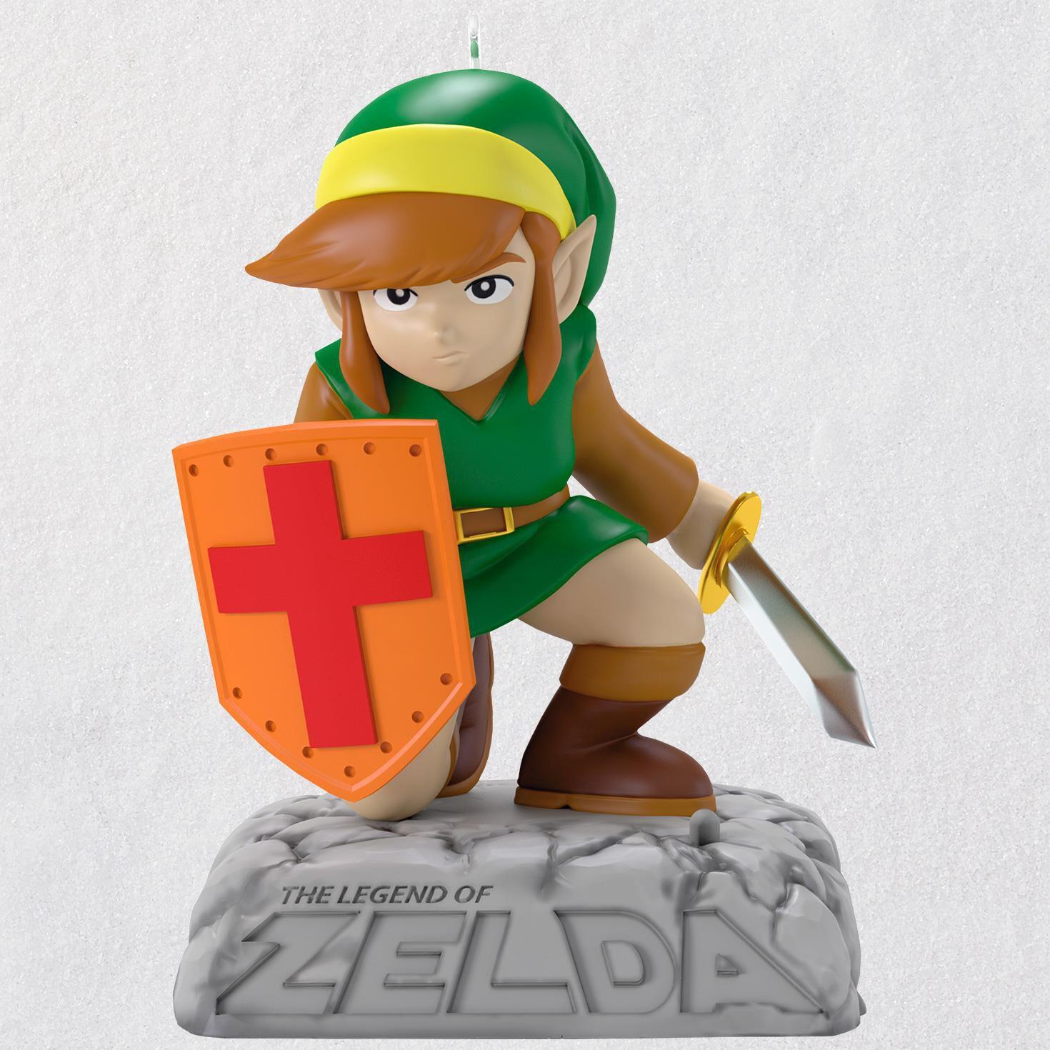The Legend of Zelda Link Ornament With Sound - Keepsake Ornaments ...