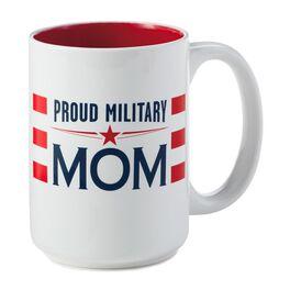 Proud Military Mom Ceramic Mug, , large