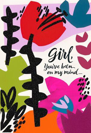 Jill Scott On My Mind Friendship Card for Her