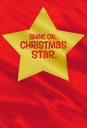 December 25th Birthday/Christmas Card