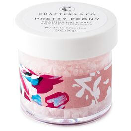Pretty Peony Foaming Bath Salts, 2 oz., , large
