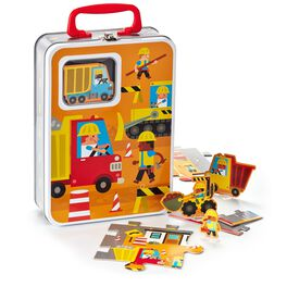 Construction Zone Puzzle, , large