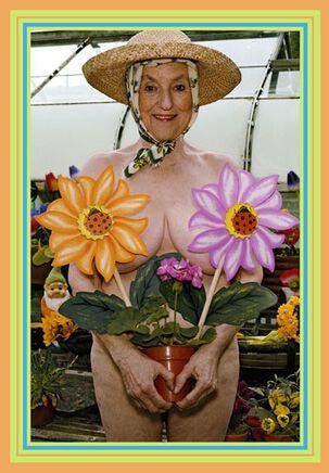 Not-So-Subtle Gardener Funny Birthday Card