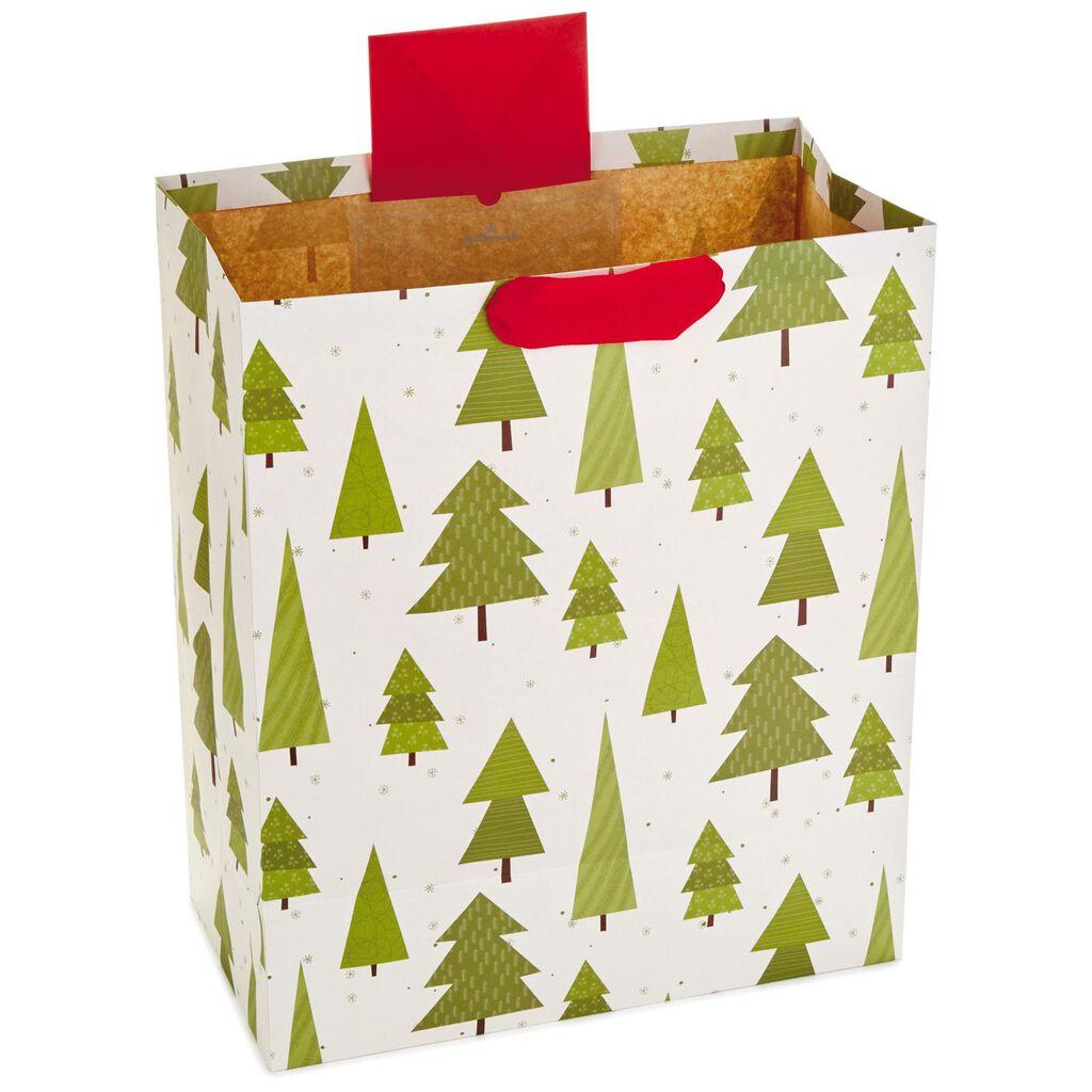 Eclectic Trees Jumbo Christmas Gift Bag, 20\