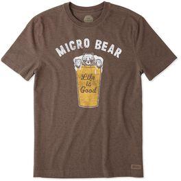 Life is Good® Men's Micro Bear T-Shirt, , large
