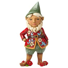 Jim Shore® Take Me Gnome With Flowers Figurine, , large